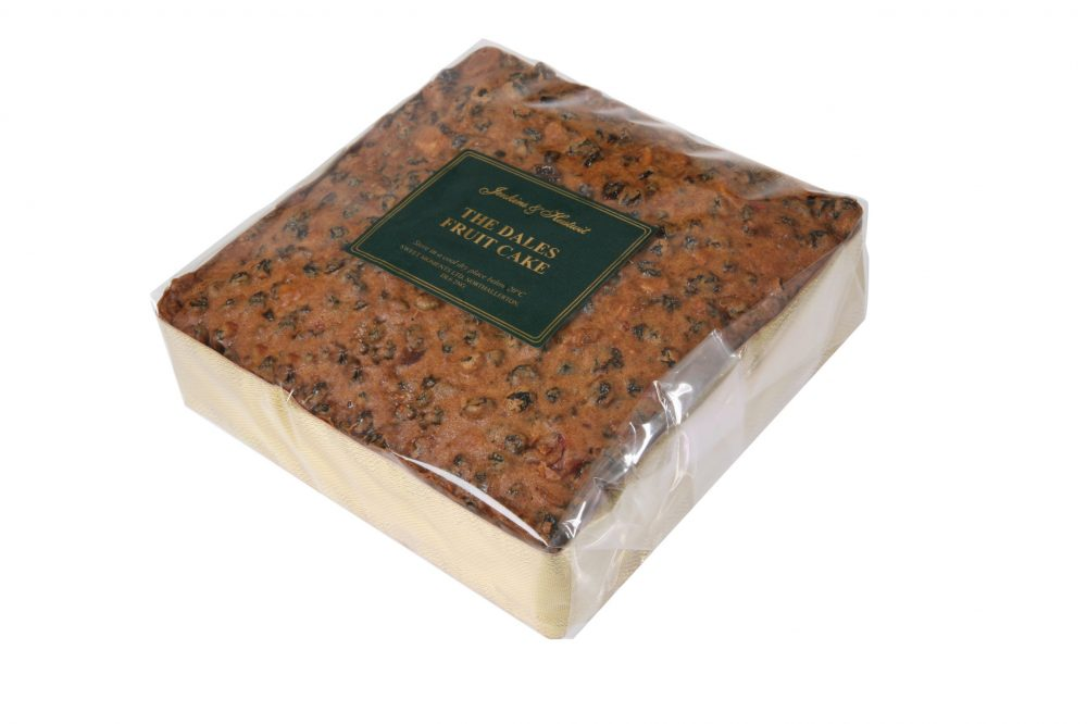 "Dales Fruit Cake 6"" Square"
