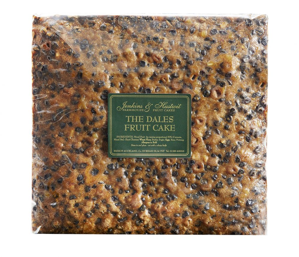 Dales Fruit Cake 12 inch Square